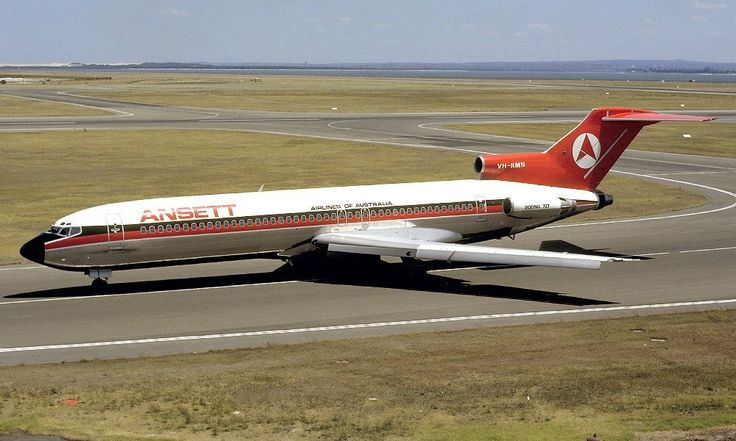 ANSETT Boeing 727-277 (VH-RMN)