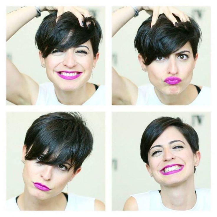 25 best ideas about Brunette Pixie Cut on Pinterest