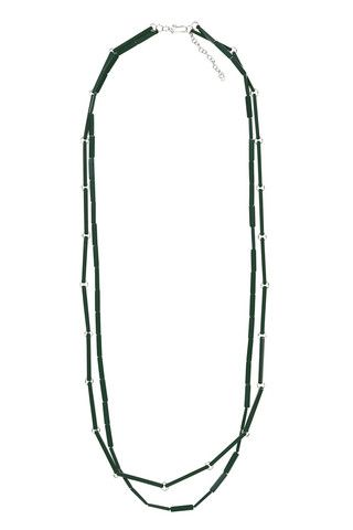 Marimekko Koski Necklace Green | Kiitos Marimekko