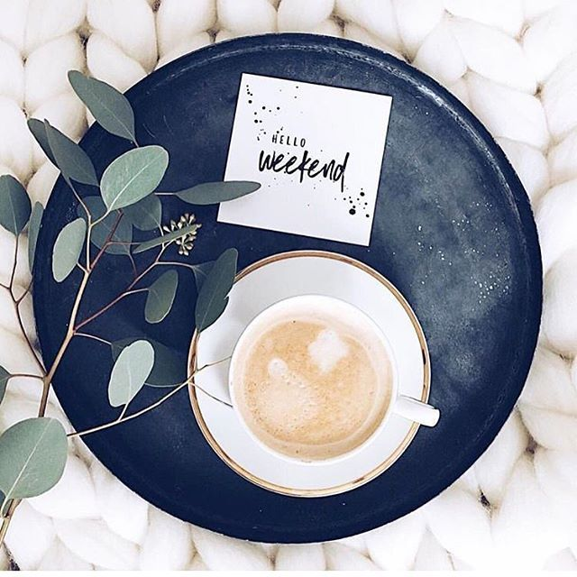 Hi beautiful weekend! We're so ready for you ☀️ ☕️ #livethelifespectrumhttps://www.instagram.com/p/BZ67NY9lOSe/