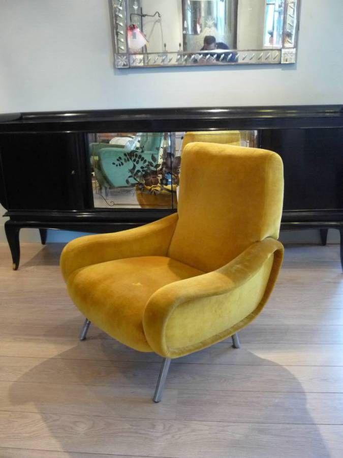 Marco Zanuso Lady Chair, Italy c.1950