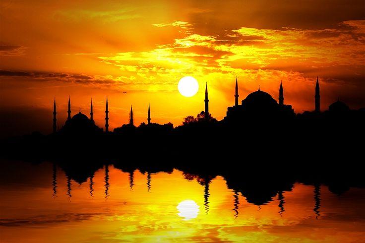 Фотография Стамбул Закат автор на 500px Надежда Sabunçu