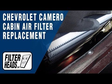 How To Replace Cabin Air Filter 2015 Chevrolet Camaro Cabin Air Filter Chevrolet Camaro Chevrolet