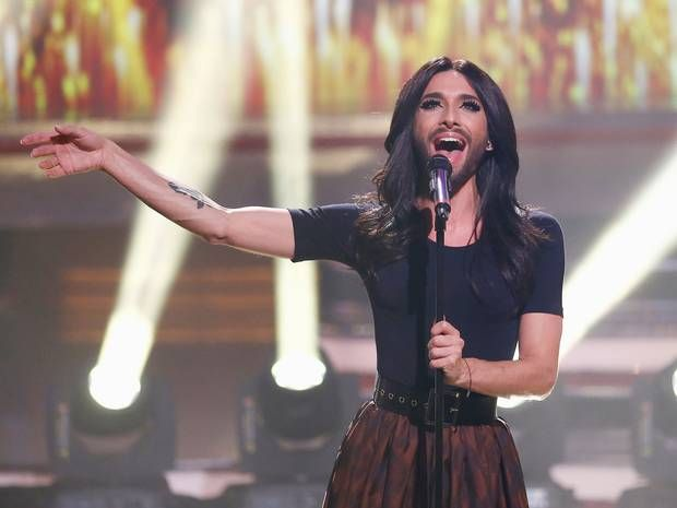 Conchita Wurst to guest at Melodifestivalen 2015 final via @angus_quinn
