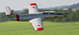 MiGFlug - Selber Kampfjet fliegen in einem Überschall-Kampfflugzeug