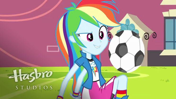 MY LITTLE PONY: Equestria Girls - Conoce a Rainbow Dash