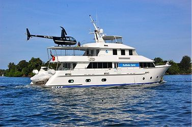 If it's pure luxury you're after, then you can't go past The Kalibobo Spirit, a five-star private charter vessel. http://www.blog.pagahill.com/#!A-Guide-to-Cruising-PNG/c2o6/5614b93c0cf2a7bb74cbb69e