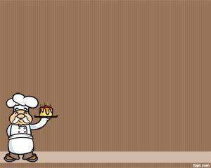 Chef plantilla de PowerPoint es un fondo chef gratuito para PowerPoint que los cocineros pueden utilizar para presentaciones de PowerPoint sobre recetas especiales de comidas, recetas saludables, presentaciones de PowerPoint gourmet o recetas de la ensaladas entre otros