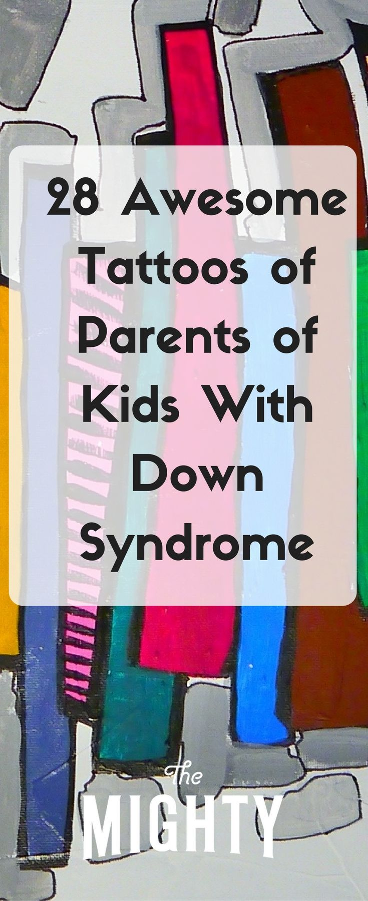 Tattoos of Parents of Kids With Down Syndrome | Th…