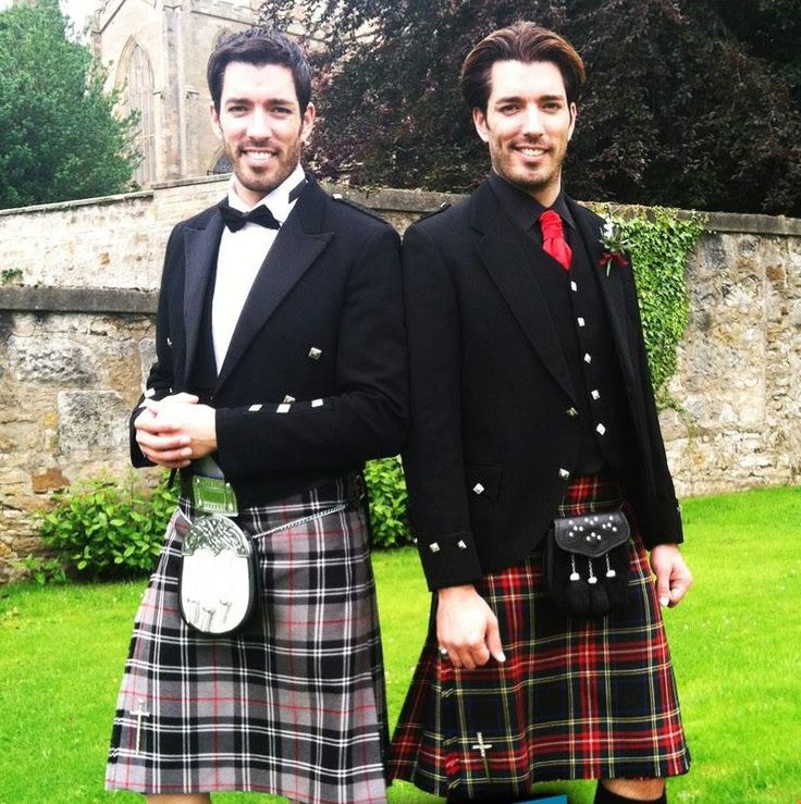 Property Brothers in kilts