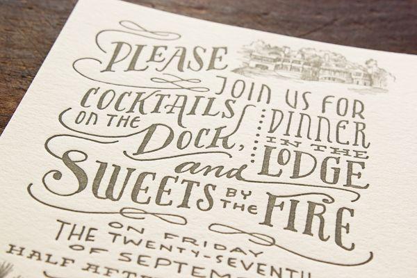 Woodland Toile Wedding Invitations Ladyfingers Letterpress9
