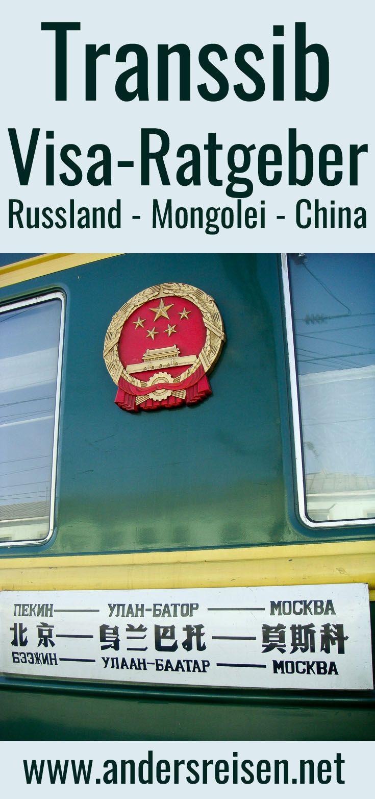 Transsib Visa-Ratgeber: Einige Visa sind für die Transsibirische Eisenbahn Reise notwendig. Dieser Guide erklärt wie es mit guter Vorbereitung mit dem Visum für Russland, Mongolei und China reibungslos klappt.