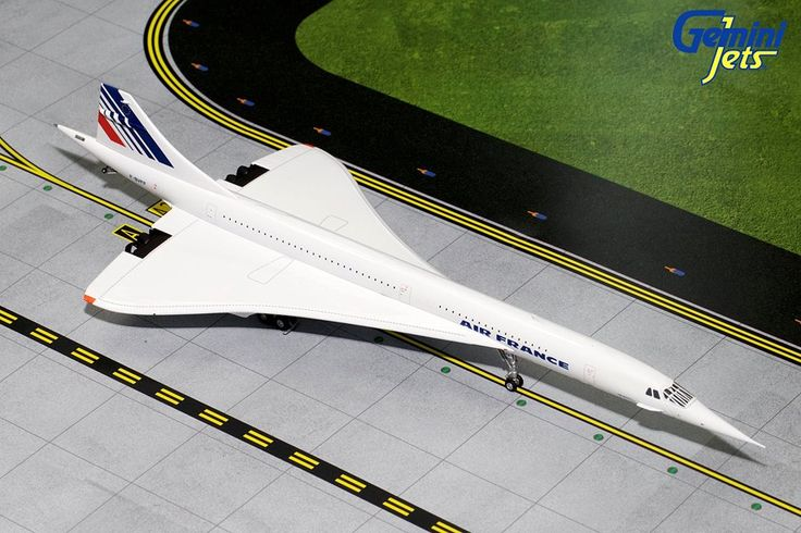 Air France Concorde  Final Livery F-BVFF G2AFR600 Scale 1:200