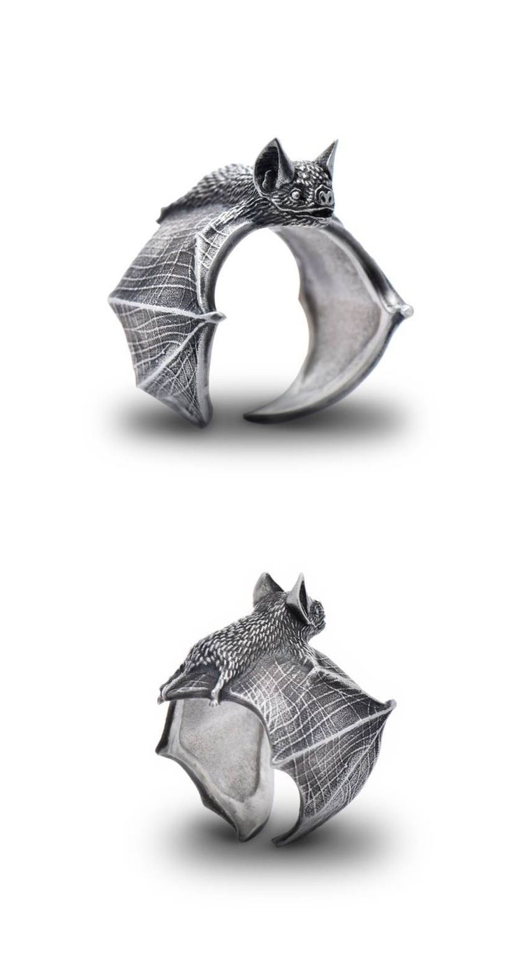 Bat ring by Alex Fox Jewelry Studio #affiliate