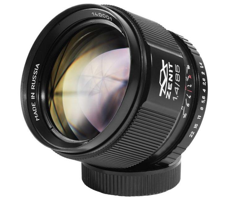 Объектив Зенит Зенитар C 85mm f/1.4 для Canon EF ―  Fotofishka.ru - интернет магазин фототехники