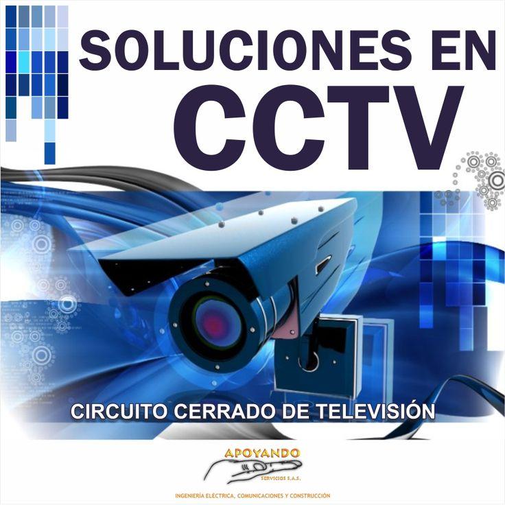 En Apoyando Servicios brindamos soluciones en Circuito Cerrado de televisión, contáctenos con gusto atenderemos sus requerimientos 3212031352 - 3144904462