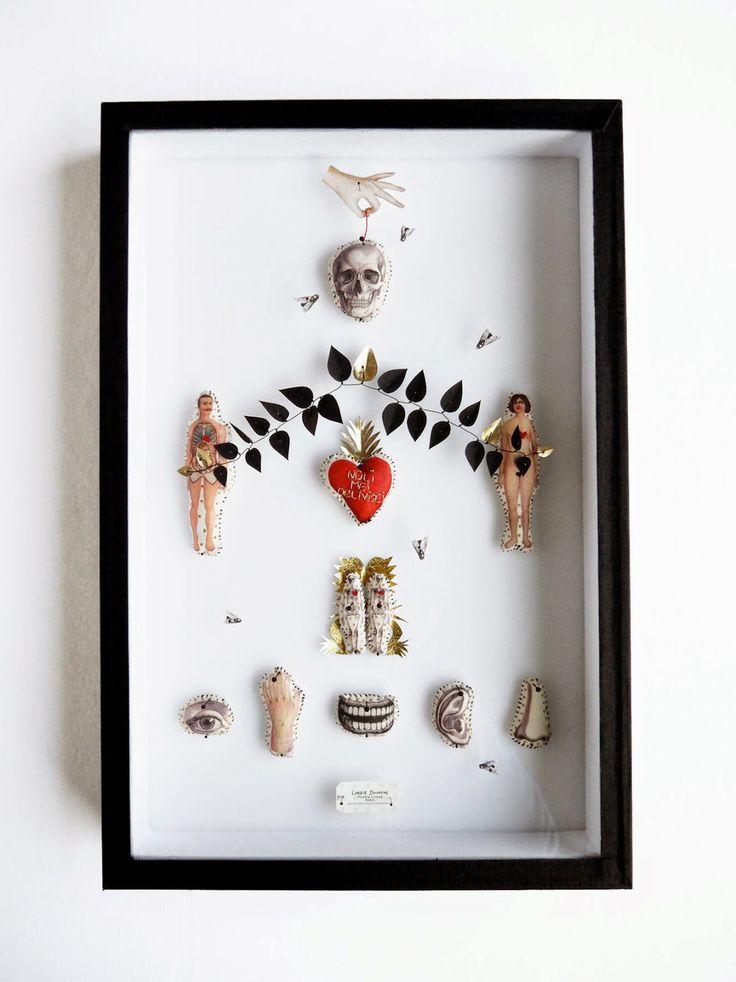 Un peu de botanique, un peu de vaudou, un peu d'anatomie et un zeste de superstition…l'atelier de Lyndie Dourthe est un cabinet de curiosités minuscules.