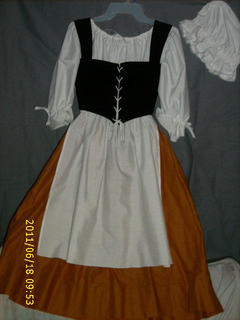 Girl's Renassiance/Colonial/Fairie Tale Costume - size 8