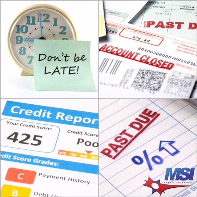 Did You Know Making New Late Payments Is The Most Common