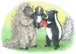 """Chris Turner's Memoirs: """"Can a skunk fall in love with a porcupine?"""""""
