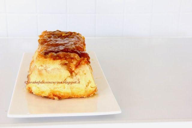 Arabafelice in cucina!: Torta magica di pane, burro e marmellata