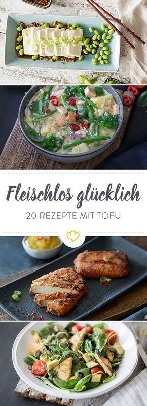 Geschmacksloser Tofu war gestern! Mit dieser bunten Mischung an würzigen und knusprigen Tofu-Rezepten bist du fleischlos glücklich.