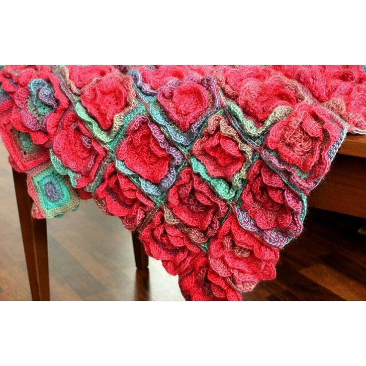 This is a beautiful crochet blanket. I used Red Heart Unforgettable yarn to create this colorful blanket. In the pattern you will find instructions with many pictures, and step-by step instructions. Even if you are a brave beginner, and know you basic stitches, you can try this pattern out! A page for easy printing is included as well, if you...