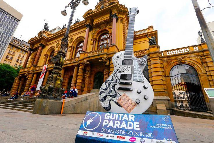 Galeria do Rock - Guitar Parade invade São Paulo