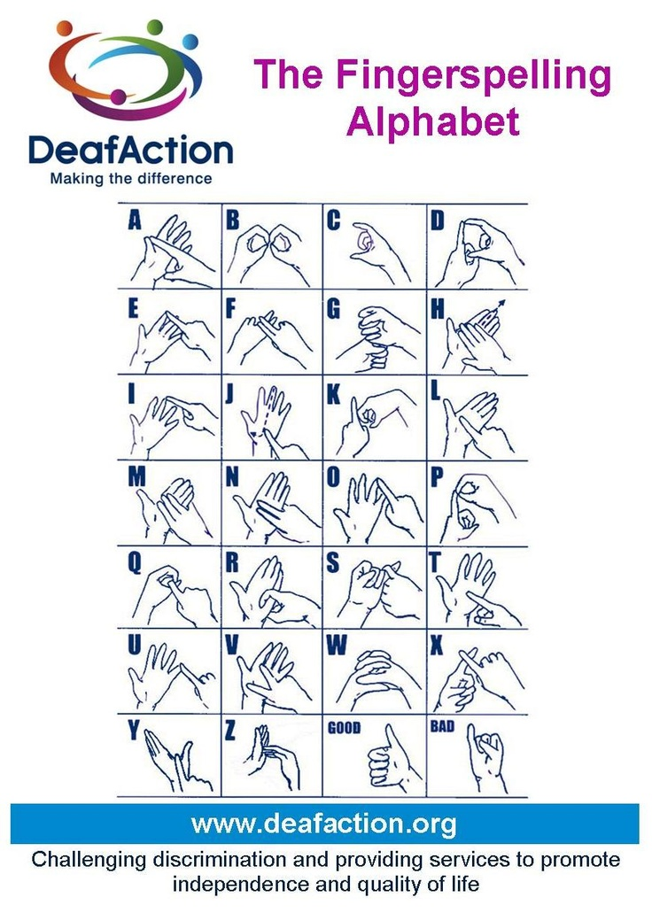 Best Sign Language Images On   Deaf Culture Sign