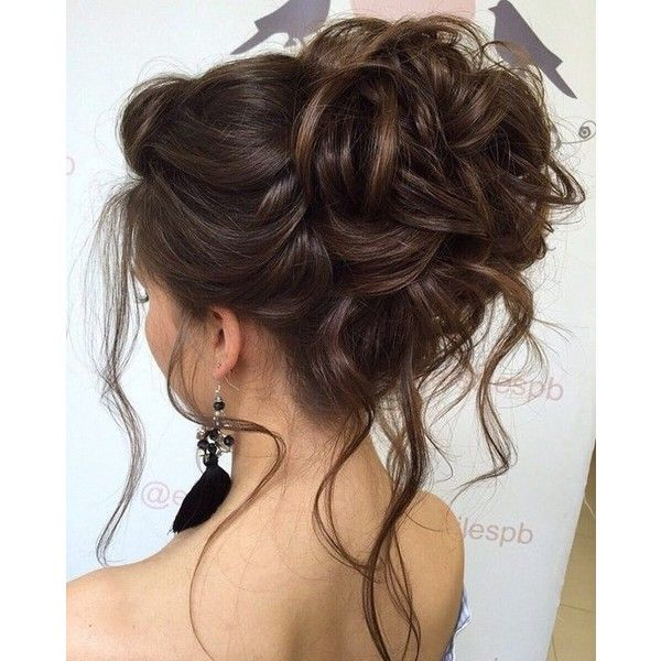 Elstile wedding hairstyles for long hair 58 ❤ liked on Polyvore featuring beauty products, haircare, hair styling tools, hair, hairstyles and hair styles