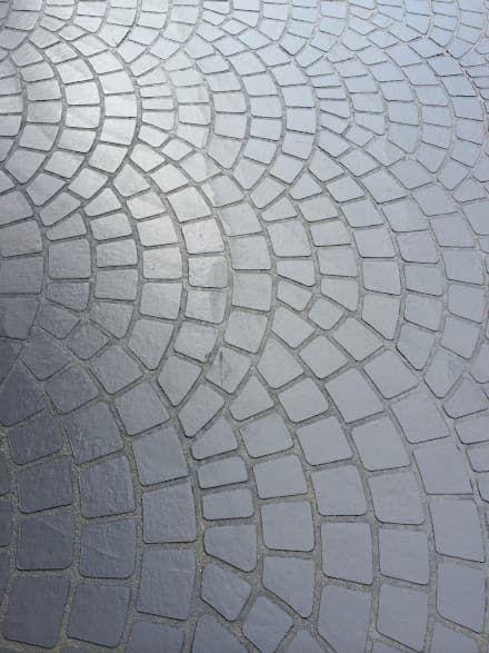 Les 25 meilleures id es de la cat gorie beton imprim sur for Finition beton exterieur