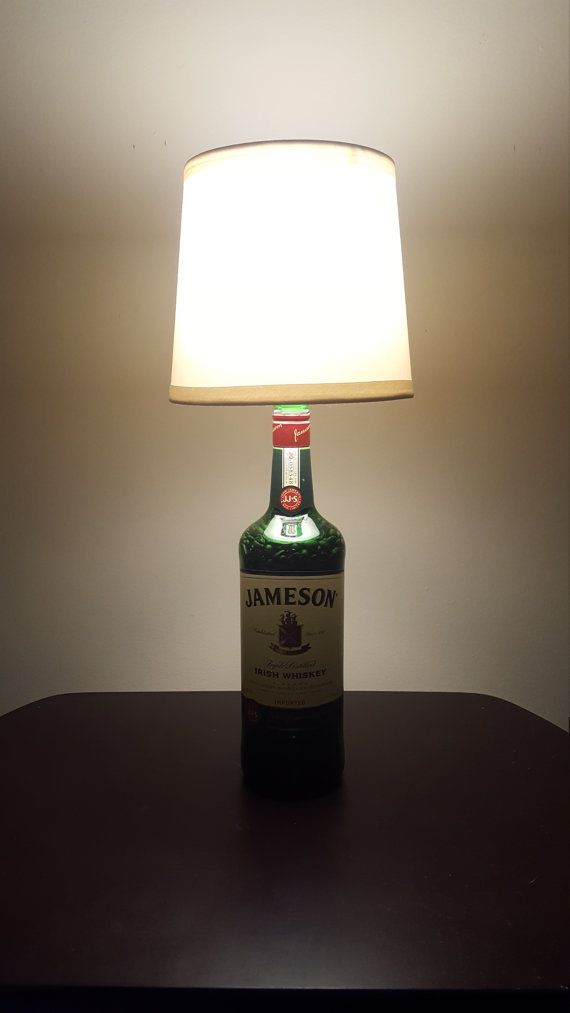 Check out this item in my Etsy shop https://www.etsy.com/listing/506271727/jameson-irish-whiskey-handmade-lamp