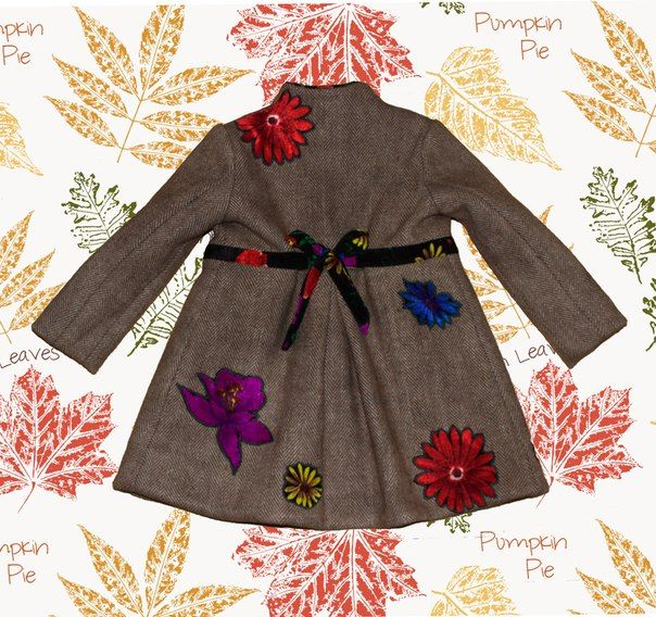 """Дизайнерское пальто для девочки от ателье """"ЛАБОРАТОРИЯ ОДЕЖДЫ""""  Coat for girl  @odejdalab"""