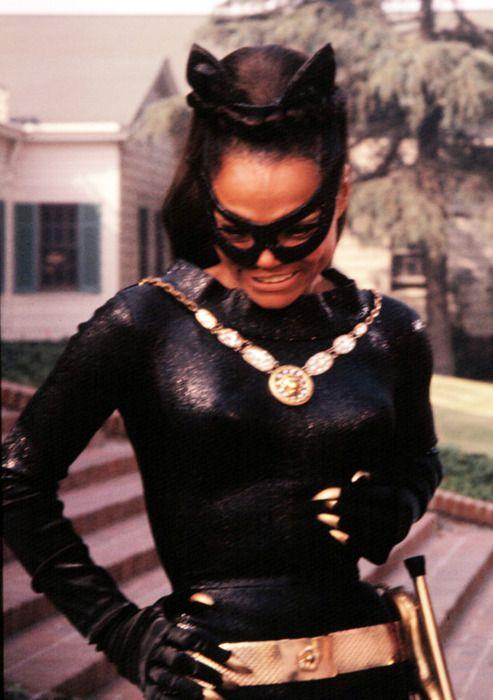 batman vintage tv show catwoman african american 60's eartha kitt women of color
