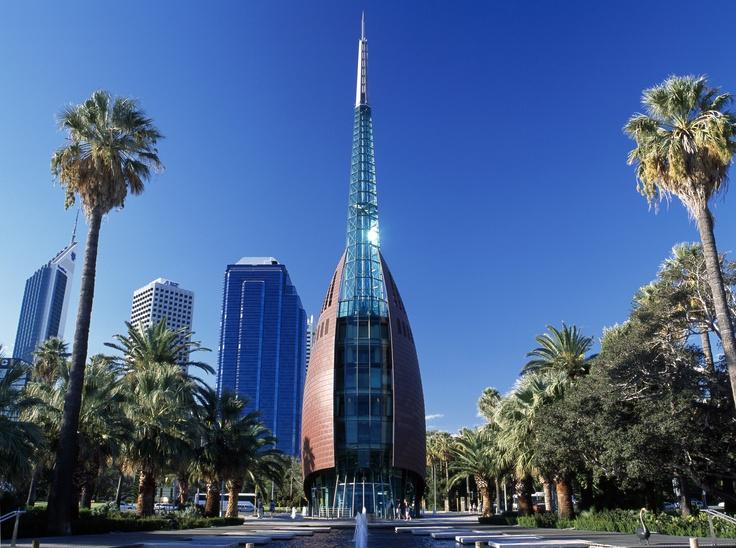 Swan Bell Tower, Perth. Photo: Tourism Australia. #Perth #WA #travel