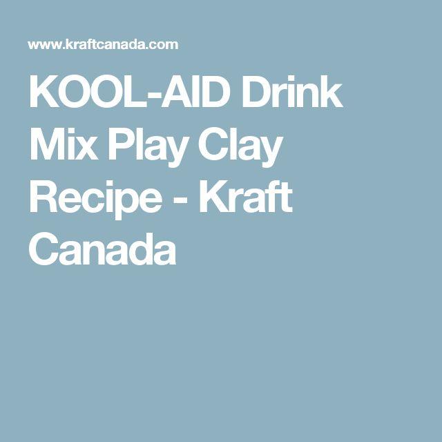 KOOL-AID Drink Mix Play Clay Recipe - Kraft Canada