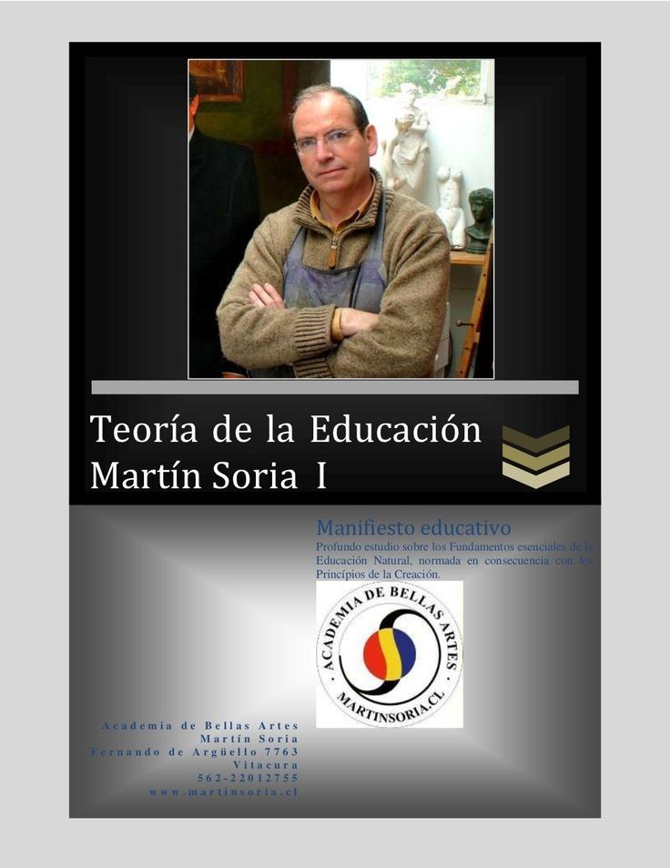 teoria-de-la-educacion-martin-soria-tomo-i-de-4 by academiamartinsoria via Slideshare
