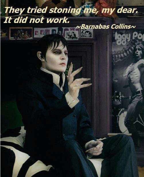 Dark Shadows Jonny Depp looks great and I find this film really funny.