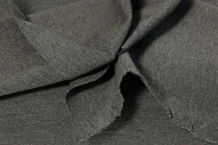 pletenina silná středně šedá | Úplety - Jerseystoffe | e-zet.cz - obchod s metráží