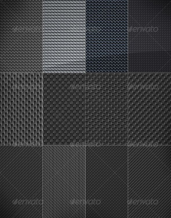 12 Web Background - carbon pattern texture  #GraphicRiver         Main folder includes 12 fiber metal, miscellaneous pixel web backgrounds. Each is 3072px x 2304px at 72dpi.   This package contains a jpeg file with 12 dark, crisp, black pixel background patterns pixels together with according tileable tiles.   Great for black dark web and graphic design.   Suited for dark, technic web design   Enjoy Alex     Created: 1April11 GraphicsFilesIncluded: JPGImage Layered: No PixelDimensions…
