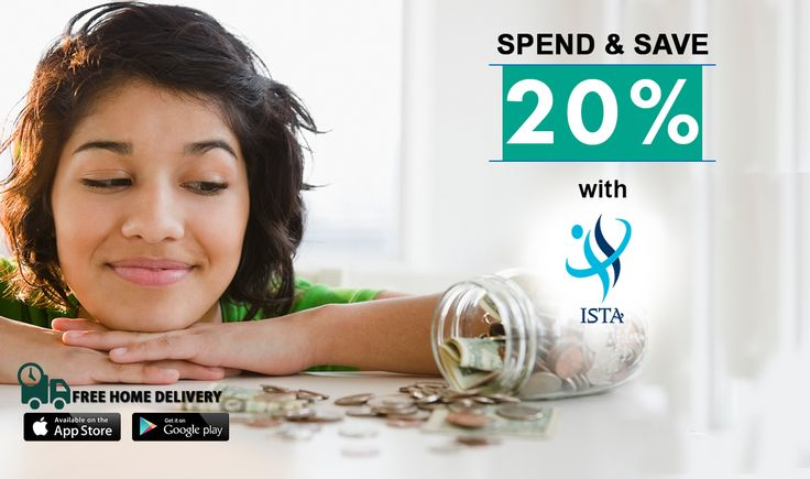 #Spend & #Save 20% with #ISTA #Medical #General #Get 20% #discount on #all #medicines #and #free #delivery http://www.istaplus.com/
