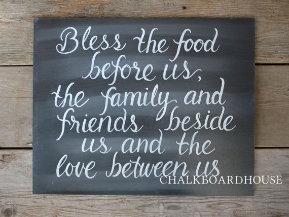 Hey, I found this really amazing Etsy listing from Chalkboard House http://www.etsy.com/listing/164513100/hand-painted-chalkboard-blessing-sign