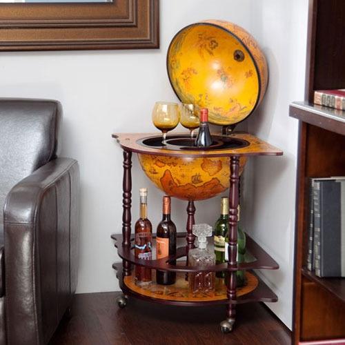 globe!: Interior Design, Stuff, Old World, Whiskey Globes, Bar Carts, Presentations Globes, Globe Cart, Globe Bar Love