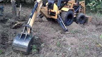 Terramite T5C Tractor Loader Backhoe - YouTube