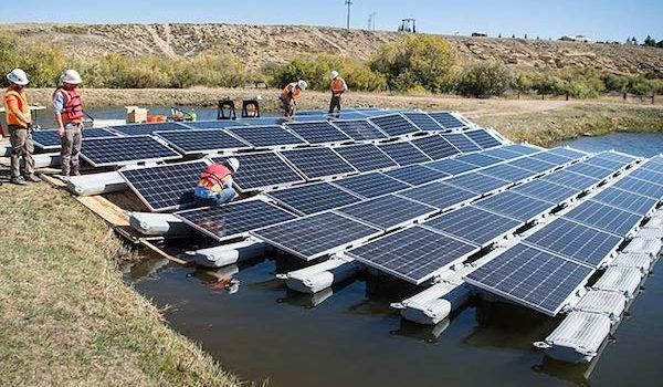 The Us Department Of Energy Roots For Floating Solar Panels Do You Cleantechnica Solarpanels Solarenergy Solarpower S In 2020 Best Solar Panels Solar Panels Solar