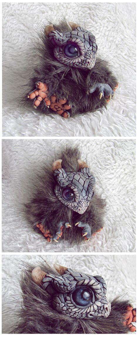Ooooooh How Much I Wish This Was REAL!!!!!!! So CUTE!! <3 -Dragon Cub by *moushugah on deviantART