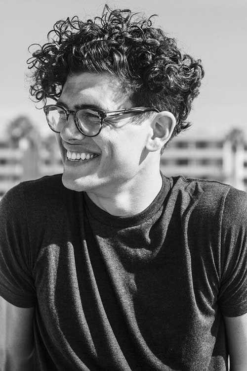Beste Curly Hairstyle Ideen für Männer 2018