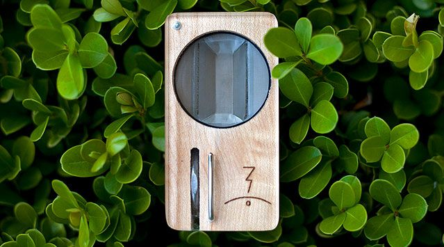 Magic Flight Launch Box portable vaporizer —a beautiful wooden box crafted for on-the-go perspective. A steal for $120