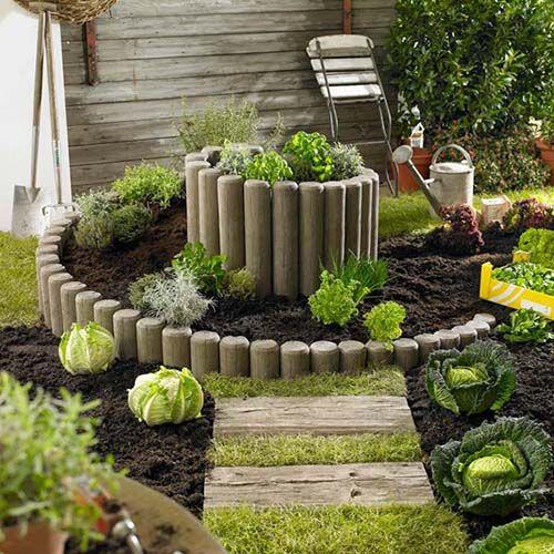 Die besten 25+ Gemüsegarten Ideen auf Pinterest Gärtnern - gartengestaltung neue ideen