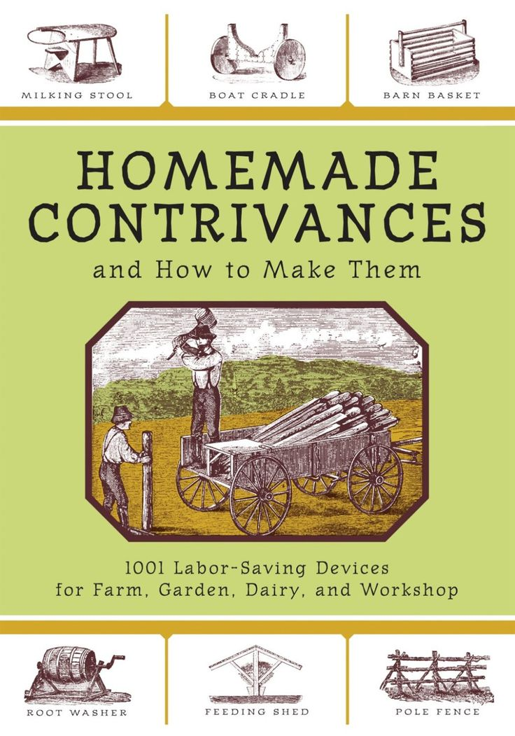 Homemade Contrivances and How to Make Them (eBook) – Products